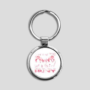 GIRL DEER HUNTER Keychains