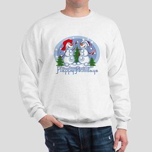 Holiday Snowmen Sweatshirt