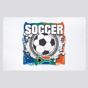 South Africa Soccer 4' x 6' Rug