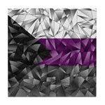 Abstract Demisexual Flag Tile Coaster