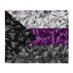 Abstract Demisexual Flag Throw Blanket