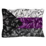 Abstract Demisexual Flag Pillow Case