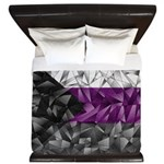 Abstract Demisexual Flag King Duvet