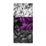 Abstract Demisexual Flag Beach Towel