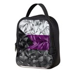 Abstract Demisexual Flag Neoprene Lunch Bag