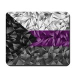 Abstract Demisexual Flag Mousepad
