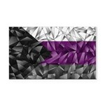 Abstract Demisexual Flag Rectangle Car Magnet