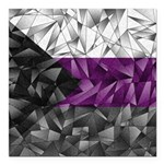 Abstract Demisexual Flag Square Car Magnet 3