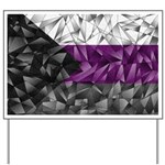 Abstract Demisexual Flag Yard Sign