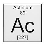 89. Actinium Tile Coaster