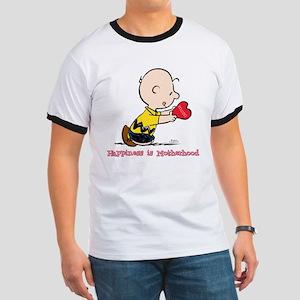 Charlie Brown - Happiness is Motherhood T-Shirt