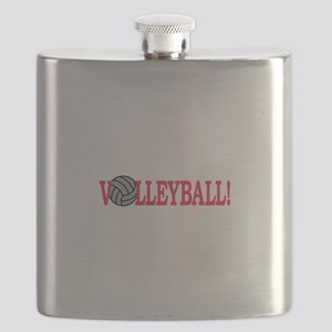 Volleyball text Flask