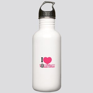 I Love Volleyball! Water Bottle