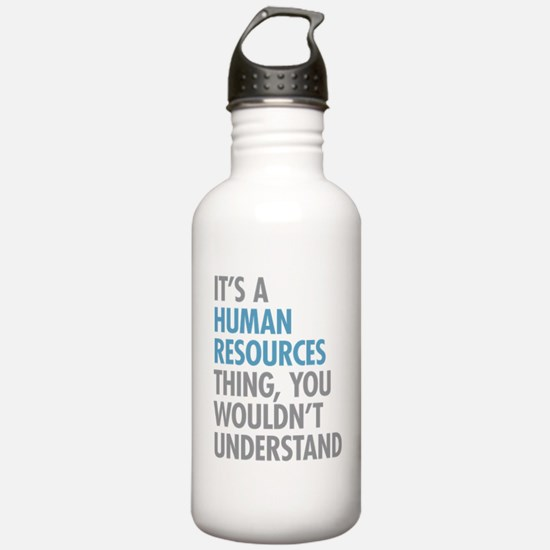 Human Resources Thing Water Bottle