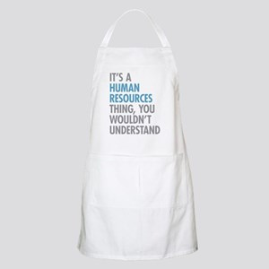 Human Resources Thing Apron