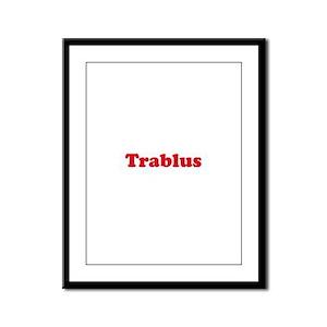 Trablus Framed Panel Print