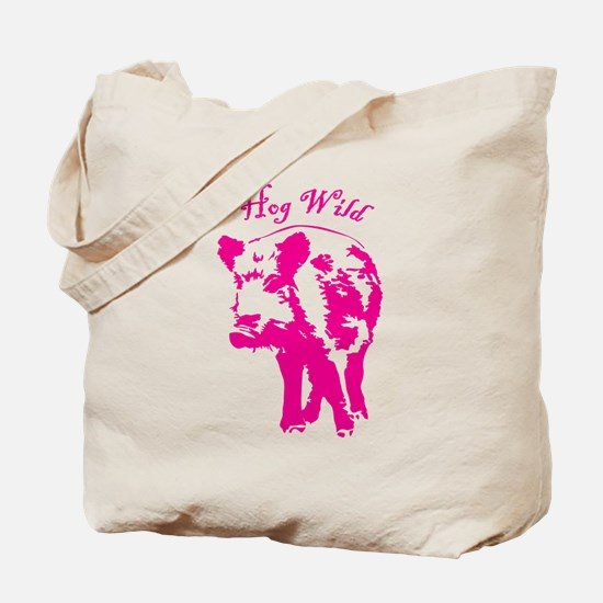 Hog wild Tote Bag