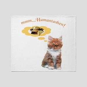 Mmmm...Hamantashen Throw Blanket
