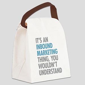 Inbound Marketing Thing Canvas Lunch Bag