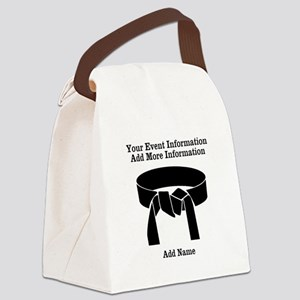 Karate Tournament Canvas Lunch Bag
