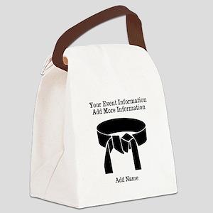 Karate Tournament Canvas Lunch Bag