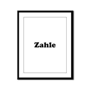 Zahle Framed Panel Print