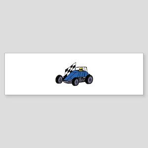 Non-Winged Sprint Car Bumper Sticker