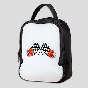 Hot Crossed Flags Neoprene Lunch Bag