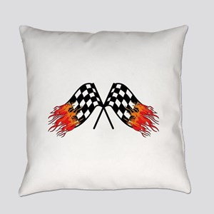 Hot Crossed Flags Everyday Pillow