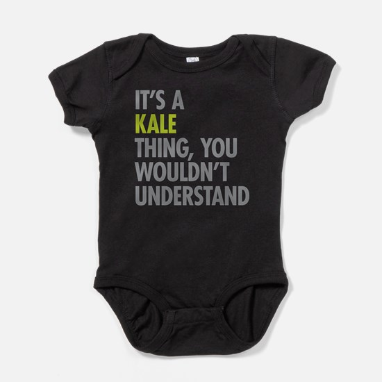 Kale Thing Baby Bodysuit