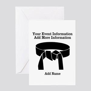 Karate Tournament Greeting Cards