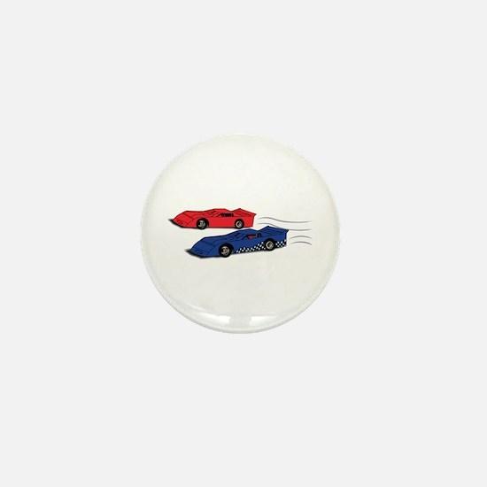 Late Models Racing Mini Button