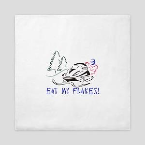 Eat My Flakes Queen Duvet