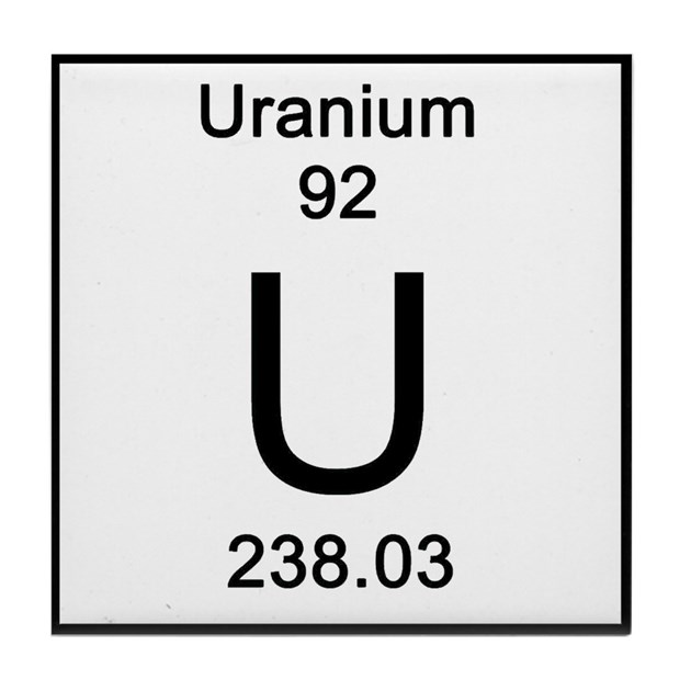 92. Uranium Tile Coaster by Science_Lady