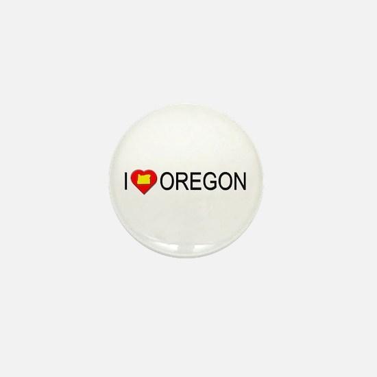 I love Oregon Mini Button