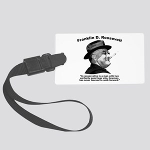FDR: Conservatives Large Luggage Tag