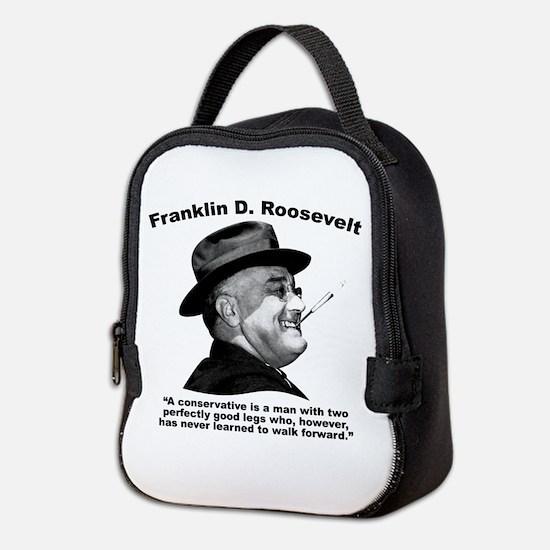 FDR: Conservatives Neoprene Lunch Bag