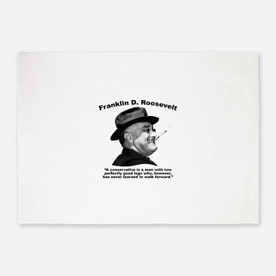 FDR: Conservatives 5'x7'Area Rug