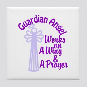 Guardian Angel Works On A Wing & A Prayer Tile Coa