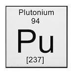 94. Plutonium Tile Coaster