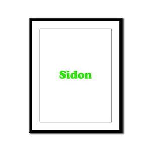Sidon Framed Panel Print