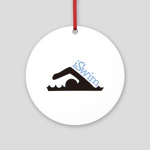 iSwim Ornament (Round)