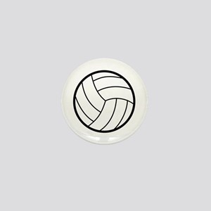 Volleyball Mini Button