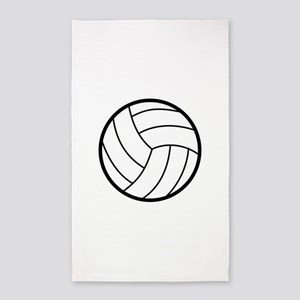 Volleyball Area Rug