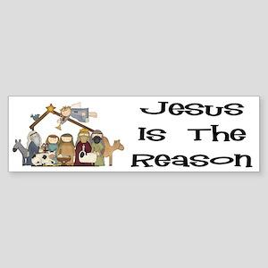 Jesus is the Reason Bumper Sticker