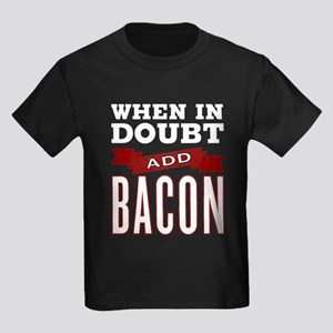 Add Bacon Kids Dark T-Shirt