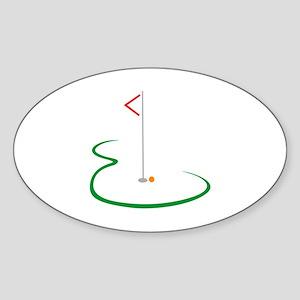 Golf Green Sticker