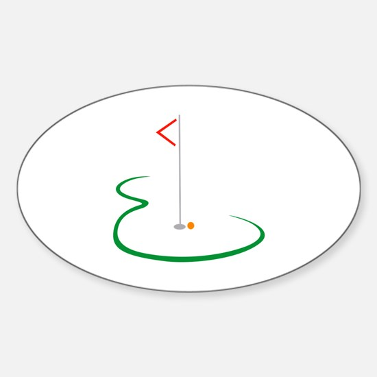 Golf Green Decal