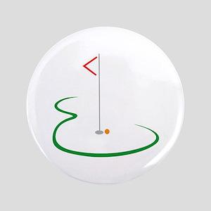 Golf Green Button