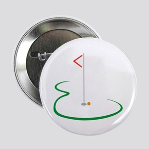 "Golf Green 2.25"" Button (10 pack)"
